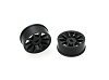 PN Racing Mini-Z AWD Machine Cut 10 Spoke Front Wheel F0 Black