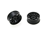 PN Racing Mini-Z AWD Machine Cut 10 Spoke Front Wheel F1 Black