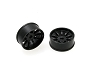 PN Racing Mini-Z AWD Machine Cut 10 Spoke Front Wheel F2 Black