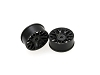 PN Racing Mini-Z AWD Machine Cut BBS Front  Wheel F0 Black