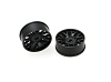 PN Racing Mini-Z AWD Machine Cut BBS Front  Wheel F1 Black
