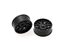 PN Racing Mini-Z AWD Machine Cut BBS Front  Wheel F2 Black