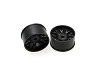 PN Racing Mini-Z AWD Machine Cut BBS Rear Wheel R0 Black