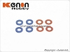 PN Racing Mini-Z MR03 Color Shim Set for King Pin