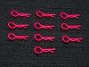 PN Racing Ultra Body Clip 10pcs (Red)