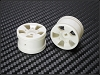 PN Racing Mini-Z Buggy Laser S5 Rear Wheel White (2pcs)