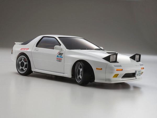 Kyosho White MINI-Z AWD Initial D Savanna RX-7 Mazda FC3S MA-020 Readyset