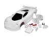 TRP Mini-Z Mosler MT900 R White Body Set