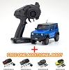 Kyosho Mini-Z 4X4 Suzuki Jimny Sierra Brisk Blue Metallic Ready Set
