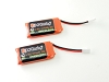 PN Racing 30C Discharge LiPo MOLEX Female Plug 444mah 1S Battery (2pcs)