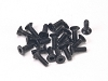 PN Racing M2x6 Countersunk Hardened Carbon Steel Hex Machine Screw (20pcs)