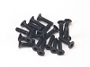 PN Racing M2x8 Countersunk Hardened Carbon Steel Hex Machine Screw (20pcs)