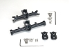 LoCo RC SCX24 Aluminum Front & Rear Axle Case