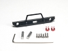 LoCo RC SCX24 Aluminum Front Bumper With Light Buckets