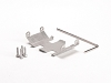 LoCo RC SCX24 Stainless Steel Center Belly Skid Plate