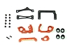PN Racing Mini-Z V5 LCG 98mm Motor Mount (Orange)