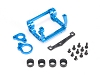 PN Racing Mini-Z V4 94mm Motor Mount for Kyosho Motor (Blue)