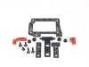 PN Racing Mini-Z Gimbals Conversion Kit for MR3300 V5 Motor Mount (Orange)