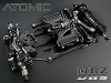 Atomic MRZ DWS version Chassis Kit Only (Limited Black Edition) (No Electronic)
