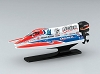 Kyosho Mini-Z Boat Scale Marine Collection Ligier No.17 Body Set