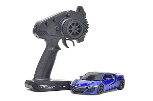 Kyosho Mini-Z MR03 RWD NSX Nouvelle Blue Pearl RS Ready Set