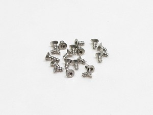 PN Racing M2x4 Countersink Stainless Steel Hex Plastic Screw (20pcs)