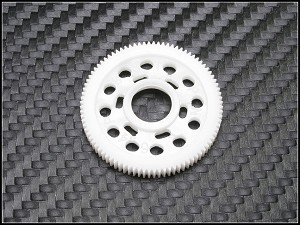 PN Racing Machine Cut Delrin Limited Slip Spur Gear 64P 92T (For Tamiya F1 Ball Diff)