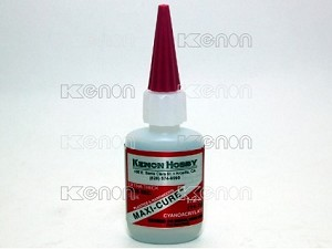 PN Racing Maxi-Cure CA Glue 10-25 Sec. 1/2 oz