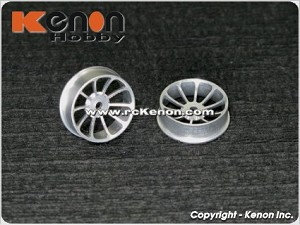PN Racing dNaNo 10 Spoke Aluminum Wheel Rim 20F (1 pair)