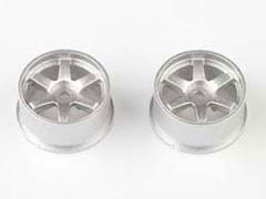 Kyosho dNaNo FX101 Wheel Set (18/Rear/Silver/2Pcs)