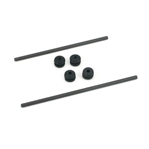 E-flite CX2 Body Mnt Rod & Grommet Set