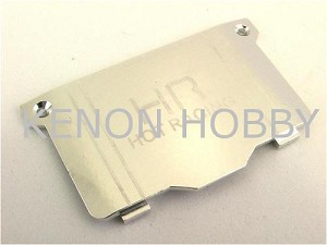Hot Racing Micro-T Alum. Heat sink Battery Cover ( silver )