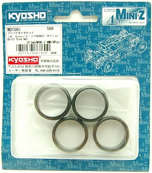 Kyosho MA010 Drifting Tire Set (8.5mm 4 pcs)