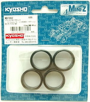 Kyosho MA010 Drifting Tire Set (11mm 4 pcs)