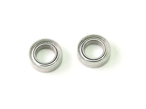PN Racing ABEC5 Dry Ball Bearing 4x7x2mm for Spur Gear (2pcs)