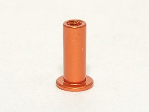 PN Racing Flanged Aluminum Disk Damper Post - Orange