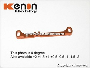 PN Racing Mini-Z MR03 Alum Tie Rod W 0 (Orange)