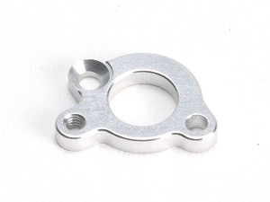 PN Racing Mini-Z V4 94mm Motor Mount Plate for Screw In Motor (Silver)