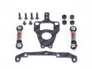 PN Racing Mini-Z Tri Damper System Conversion Kit for MR3311 V4 Motor Mount