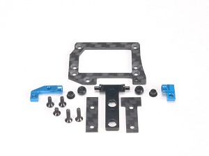 PN Racing Mini-Z Gimbals Conversion Kit for MR3300 V5 Motor Mount (Blue)
