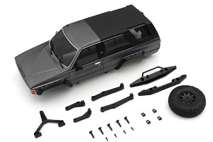 Kyosho Mini-Z 4x4 MX-01 Toyota 4Runner Metallic Gray Body Set