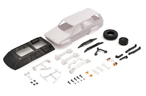 Kyosho Mini-Z 4x4 MX01 Toyota 4Runner White Body Set