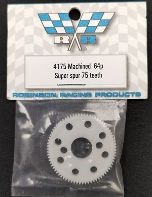 Robinson Racing Thin Super Spur 75T Precision Machined 64P