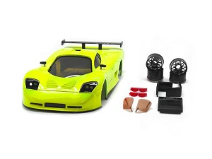 TRP Mini-Z MR02/MR03W MM Mosler MT900 Body Set (Fluor Yellow hand painted)