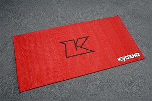 Kyosho Big K Pit Mat Red 2x4 ft