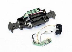 Kyosho Mini-Z MB010 Main Chassis w/ RC Unit & Servo Unit Set