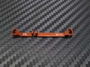PN Racing Mini-Z MR03 Double A-Arm +1.5 Deg Tie Rod (Orange)