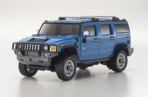 Kyosho Overland ASC MV-01S Hummer H2 Blue Body Set