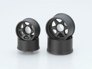 Kyosho Mini-Z Wheel Set LM (6 Spoke / Black)
