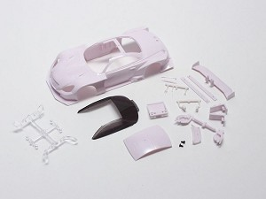 Kyosho Mini-Z MM Lexus SC430 GT500 2012 White Body